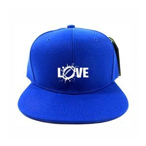 Love Hat Cap One Size Adjustable Snapback